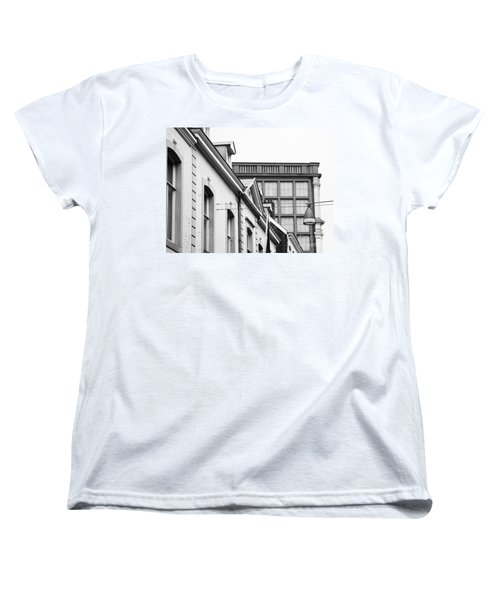 Buildings In Maastricht Women's T-Shirt (Standard Cut) by Nick  Biemans