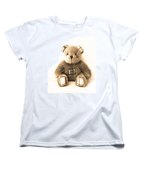Burberry Bear Women's T-Shirt (Standard Cut) by Gina Dsgn