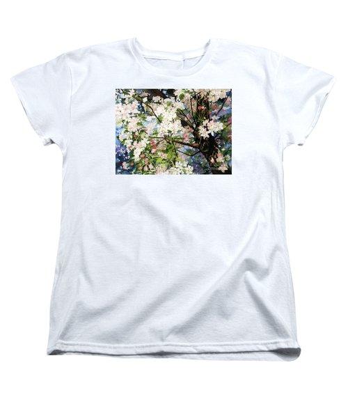 Burst Of Spring Women's T-Shirt (Standard Cut) by Barbara Jewell