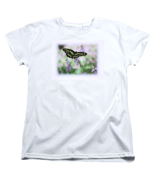 Women's T-Shirt (Standard Cut) featuring the photograph Butterfly 8 by Leticia Latocki