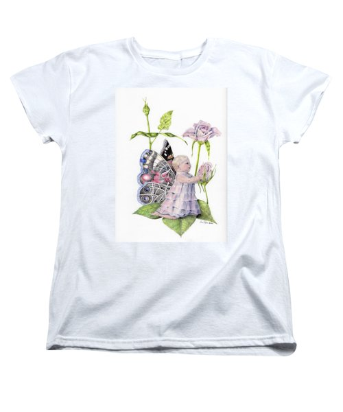 Butterfly Baby Women's T-Shirt (Standard Cut) by Laurianna Taylor
