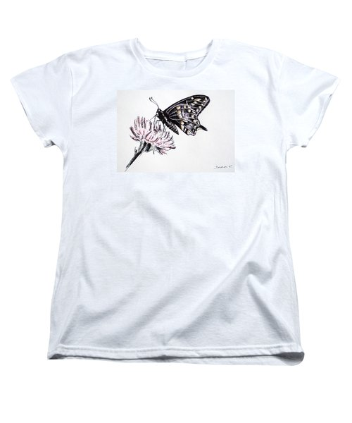 Butterfly Women's T-Shirt (Standard Cut) by Katharina Filus