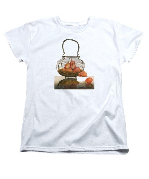 Cackleberries Women's T-Shirt (Standard Cut) by Ferrel Cordle