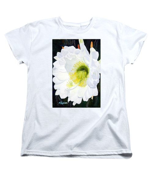 Cactus Flower II Women's T-Shirt (Standard Cut) by Mike Robles