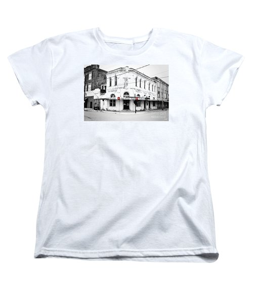 Cajun Corner Cafe Women's T-Shirt (Standard Cut) by Scott Pellegrin