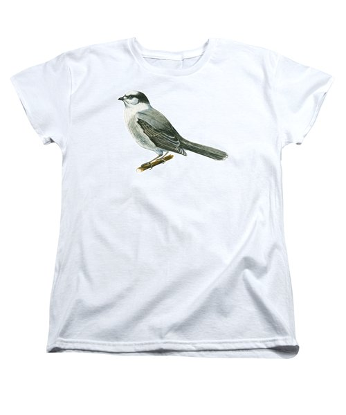 Canada Jay Women's T-Shirt (Standard Cut) by Anonymous