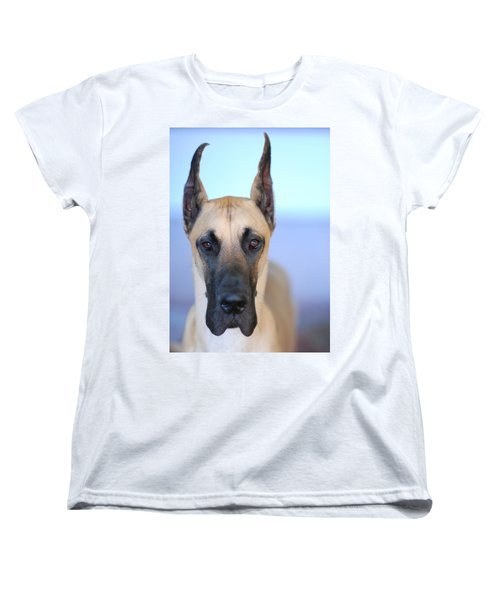 Women's T-Shirt (Standard Cut) featuring the photograph Cappy by Lisa Phillips