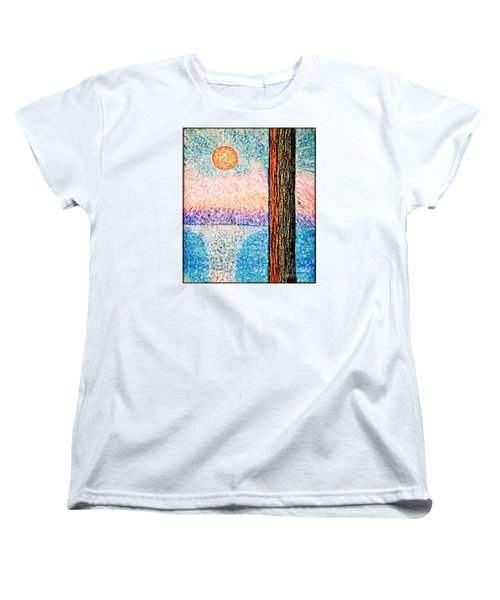 Carmel Highlands Sunset Women's T-Shirt (Standard Cut) by Joseph J Stevens