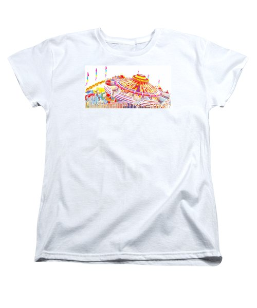 Women's T-Shirt (Standard Cut) featuring the photograph Carnival Sombrero by Marianne Dow