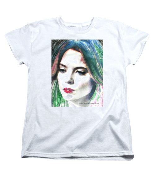 Carrie Stages Women's T-Shirt (Standard Cut) by Kim Prowse