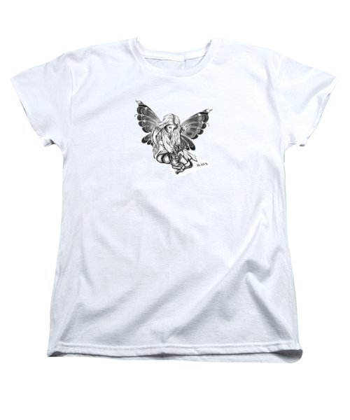 Cat Fairy  Women's T-Shirt (Standard Cut) by Peter Piatt