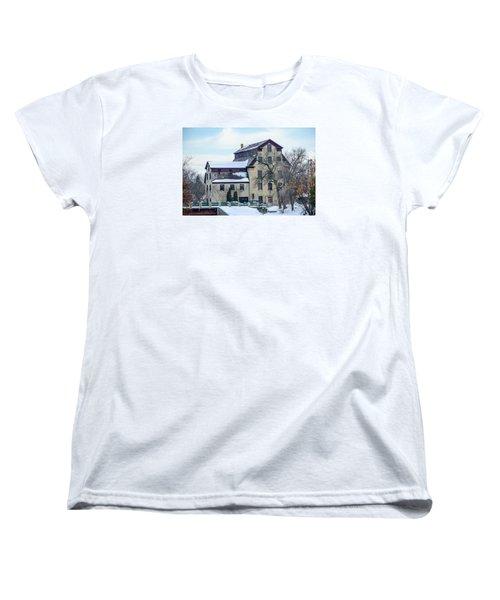 Cedarburg Mill Women's T-Shirt (Standard Cut) by Susan  McMenamin