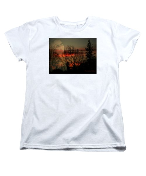 Women's T-Shirt (Standard Cut) featuring the photograph Celebrate Life by Joyce Dickens