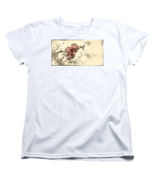 Women's T-Shirt (Standard Cut) featuring the photograph Cherry Blossoms by Peter v Quenter