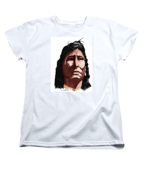 Chief Women's T-Shirt (Standard Cut) by Terry Frederick