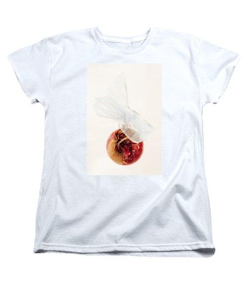 Christmas Decoration Decoupaged Women's T-Shirt (Standard Cut) by Vizual Studio