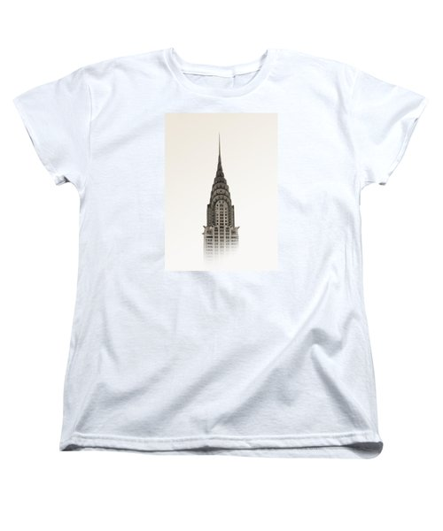 Chrysler Building - Nyc Women's T-Shirt (Standard Cut) by Nicklas Gustafsson