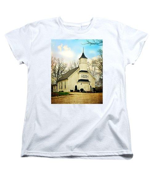 Women's T-Shirt (Standard Cut) featuring the photograph Church 12 by Marty Koch