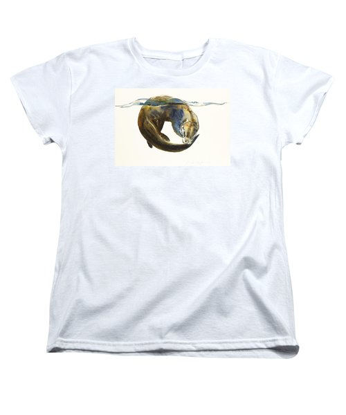 Circle Of Life Women's T-Shirt (Standard Cut) by Mark Adlington