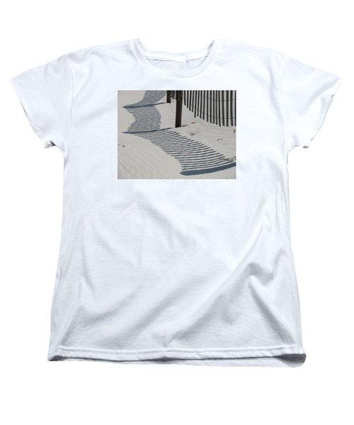Circus Beach Fence Women's T-Shirt (Standard Cut)