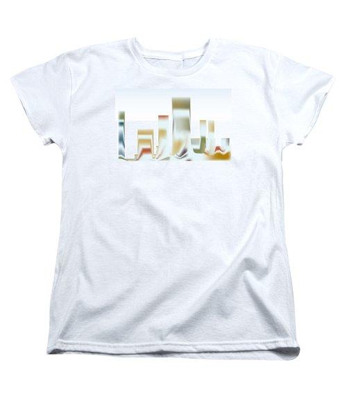 City Mesa Women's T-Shirt (Standard Cut) by Kevin McLaughlin
