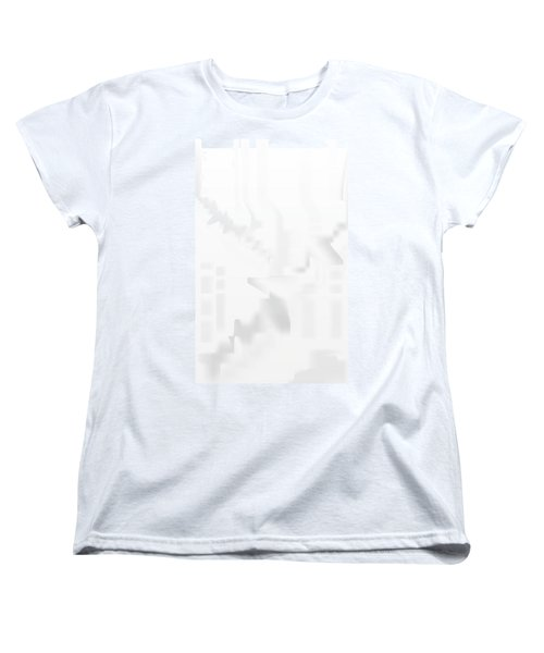 City Stair Women's T-Shirt (Standard Cut) by Kevin McLaughlin