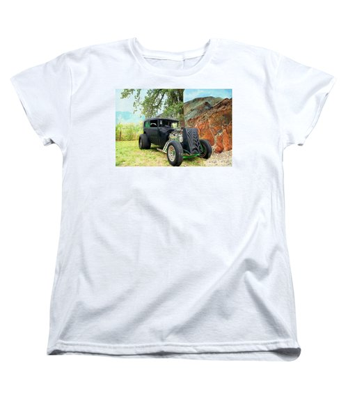 Women's T-Shirt (Standard Cut) featuring the photograph Classic Rod by Liane Wright