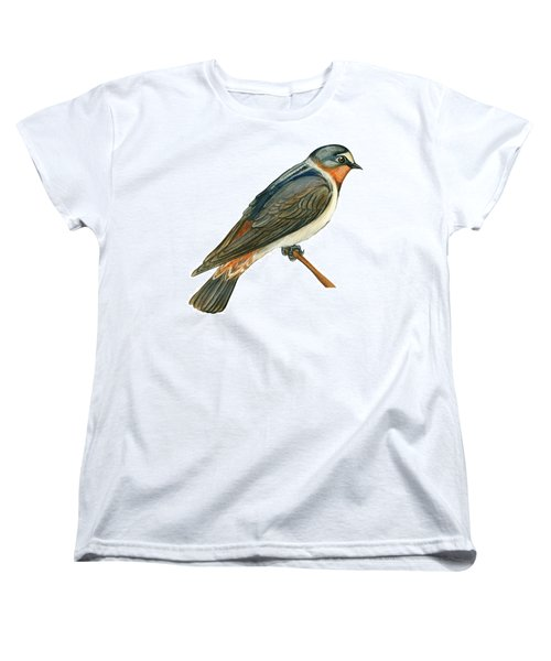 Cliff Swallow  Women's T-Shirt (Standard Cut) by Anonymous