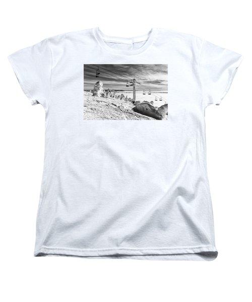 Cloud Lift Women's T-Shirt (Standard Cut) by Aaron Aldrich