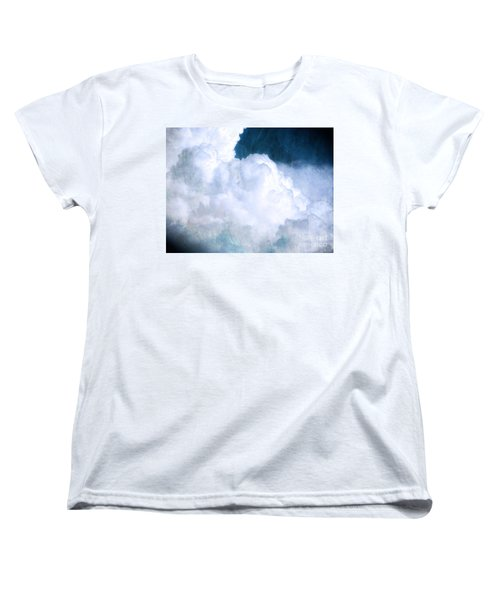 Clouds And Ice Women's T-Shirt (Standard Cut) by Roselynne Broussard