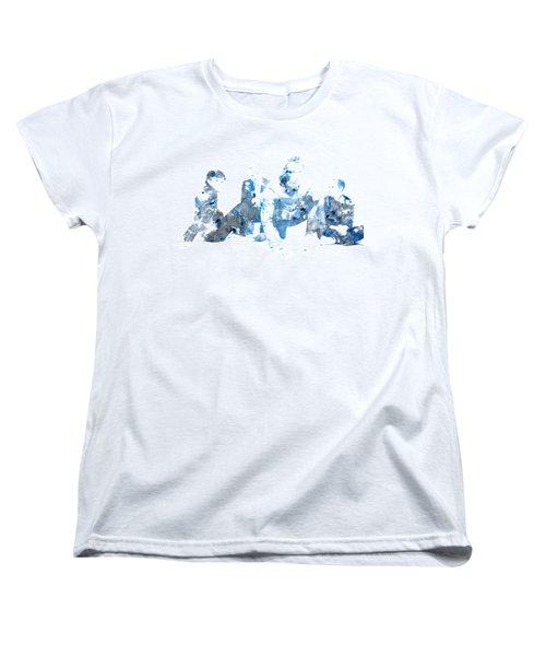 Coldplay Women's T-Shirt (Standard Cut) by Brian Reaves