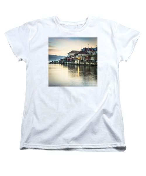 Combarro Pontevedra Galicia Spain Women's T-Shirt (Standard Cut) by Pablo Avanzini