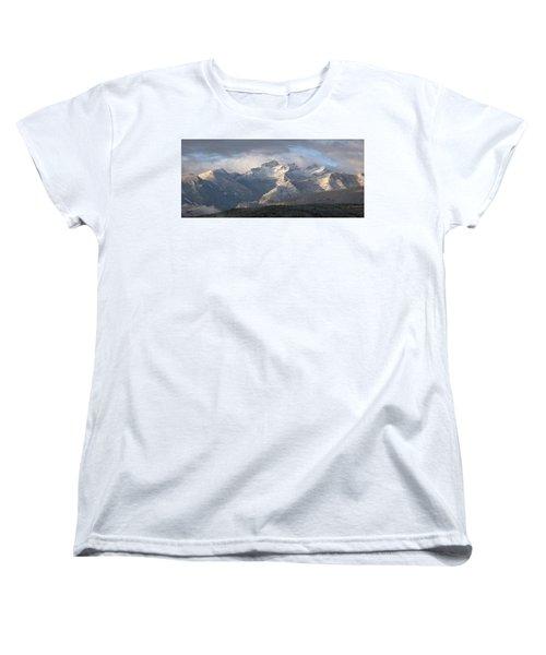 Women's T-Shirt (Standard Cut) featuring the photograph Como Peaks Montana by Joseph J Stevens