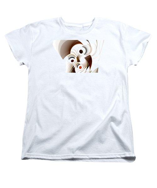 Confusion Women's T-Shirt (Standard Cut) by GJ Blackman