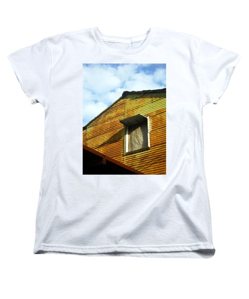 Women's T-Shirt (Standard Cut) featuring the photograph Conventillo by Silvia Bruno
