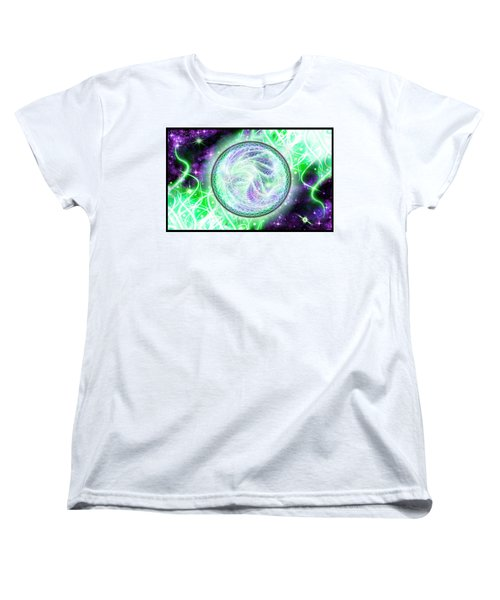 Cosmic Lifestream Women's T-Shirt (Standard Cut) by Shawn Dall
