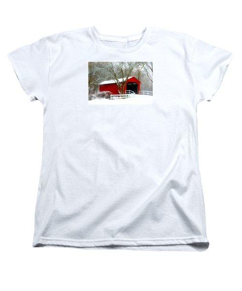 Cover Bridge Beauty Women's T-Shirt (Standard Cut)
