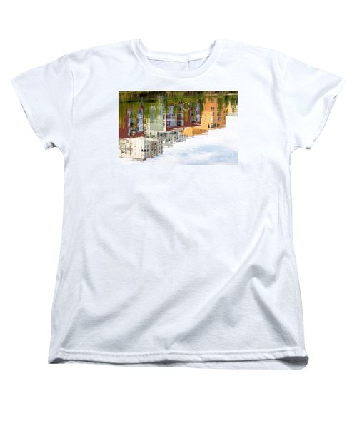 Creekside Reflections Women's T-Shirt (Standard Cut) by Kate Brown