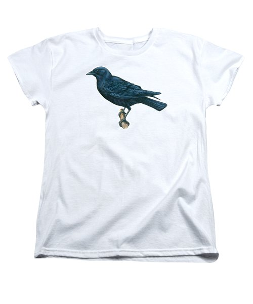 Crow Women's T-Shirt (Standard Cut) by Anonymous