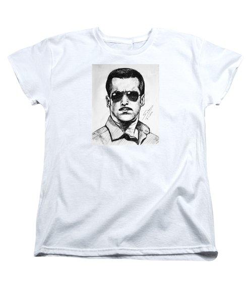 Salman Khan Women's T-Shirt (Standard Cut)