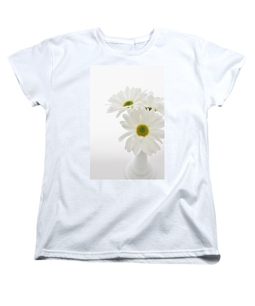 Daisies For You Women's T-Shirt (Standard Cut) by Diane Alexander