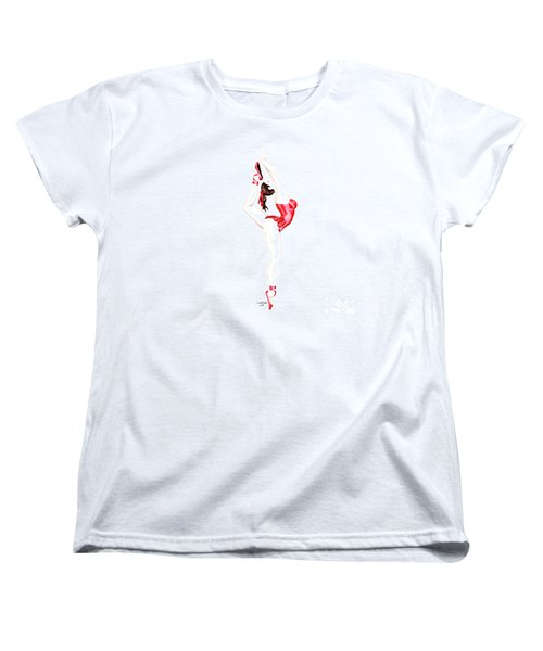 Dancer Women's T-Shirt (Standard Cut) by Renate Janssen