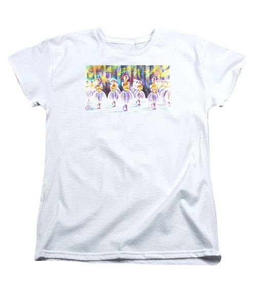 Dancers In The Forest II Women's T-Shirt (Standard Cut) by Kip DeVore