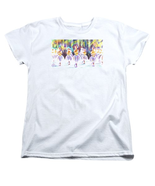 Dancers In The Forest II Women's T-Shirt (Standard Cut)