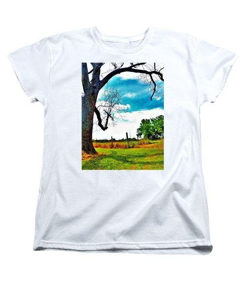 Women's T-Shirt (Standard Cut) featuring the photograph Daydreamer by Faith Williams