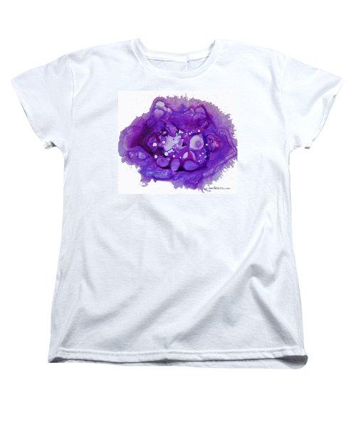 Deep Purple Women's T-Shirt (Standard Cut) by Joan Hartenstein