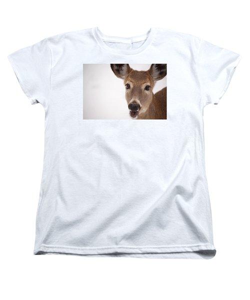 Deer Talk Women's T-Shirt (Standard Cut)