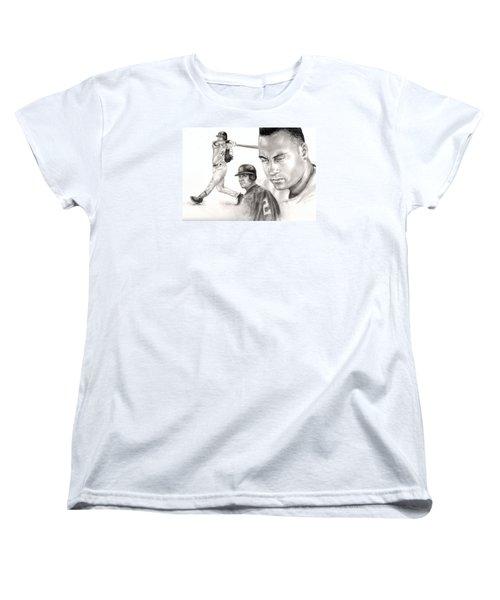 Derek Jeter Women's T-Shirt (Standard Cut)