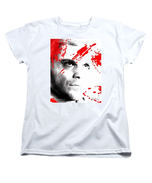 Dexter Dreaming Women's T-Shirt (Standard Cut) by Dale Loos Jr