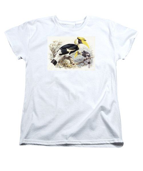 Dichocerus Bicornis Women's T-Shirt (Standard Cut) by Johan Gerard Keulemans